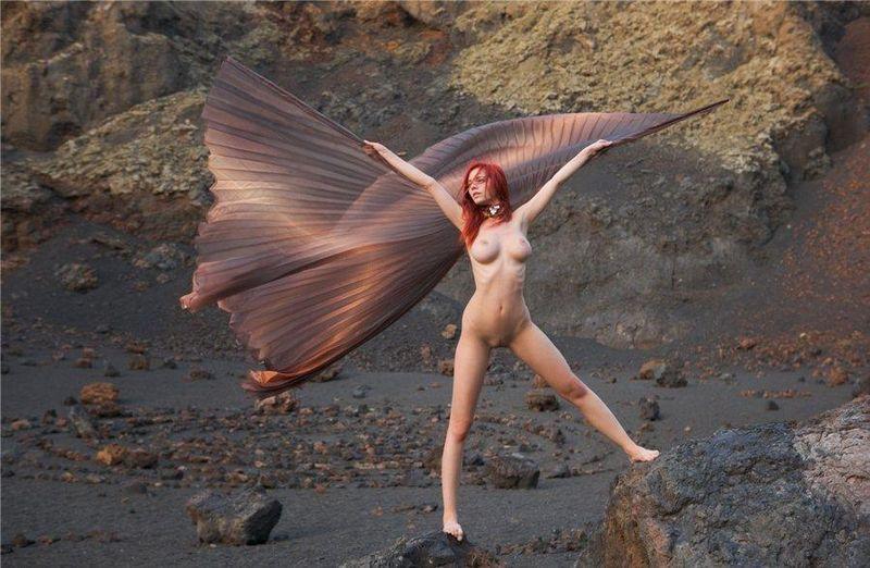 еротика фото ветер
