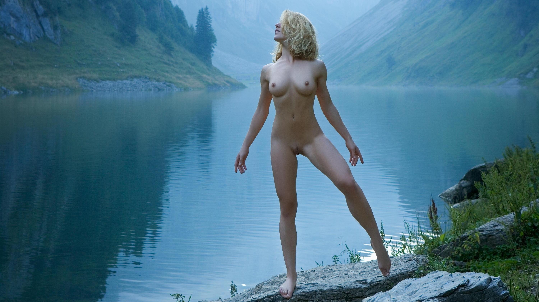 Fantasy nudity naked scene