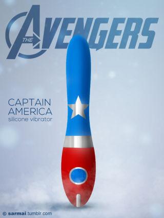 Avenger sex toys NSFW