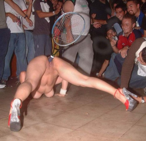 advanced tennis player