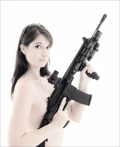armed nude