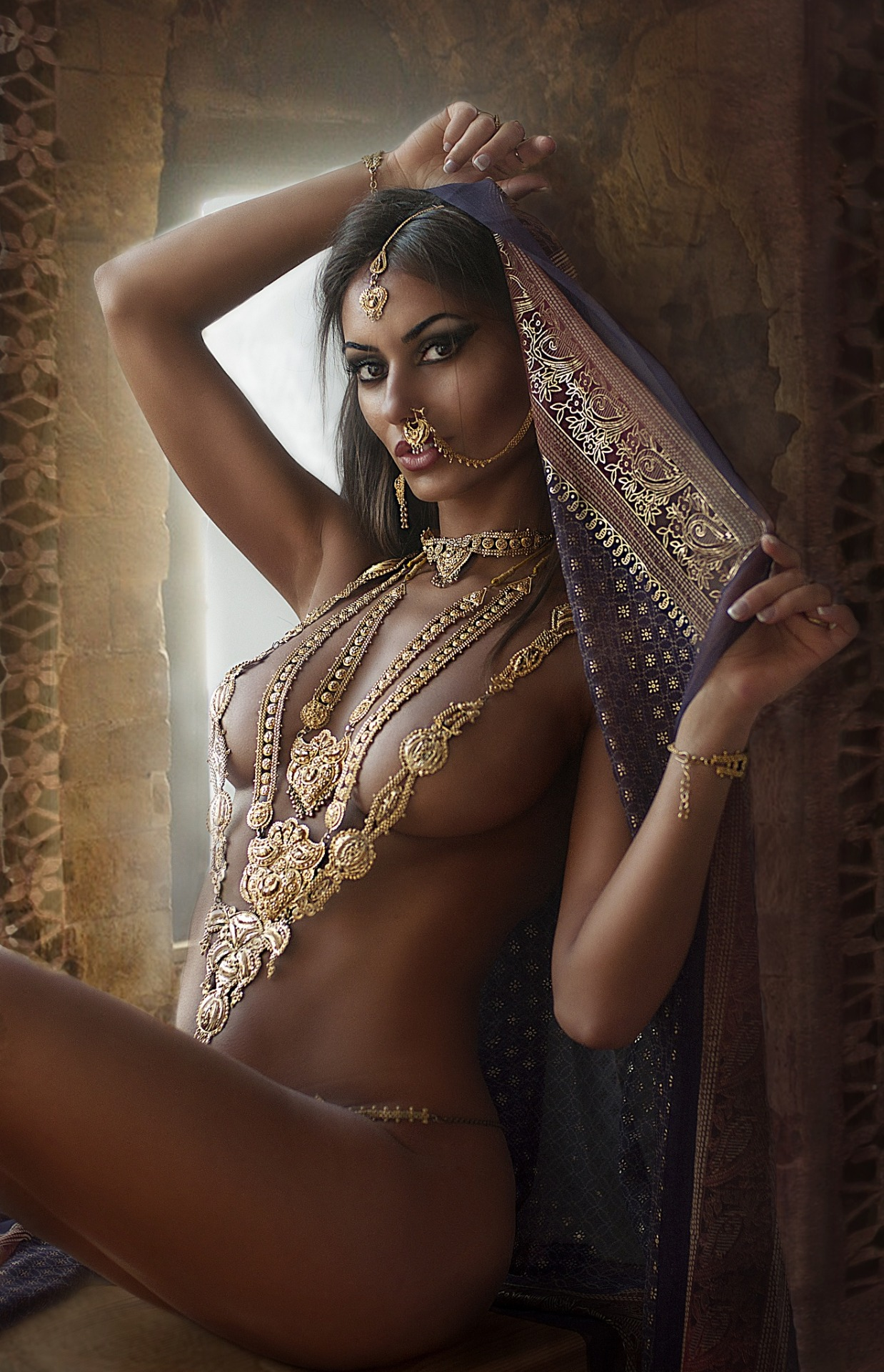 indian bride naked