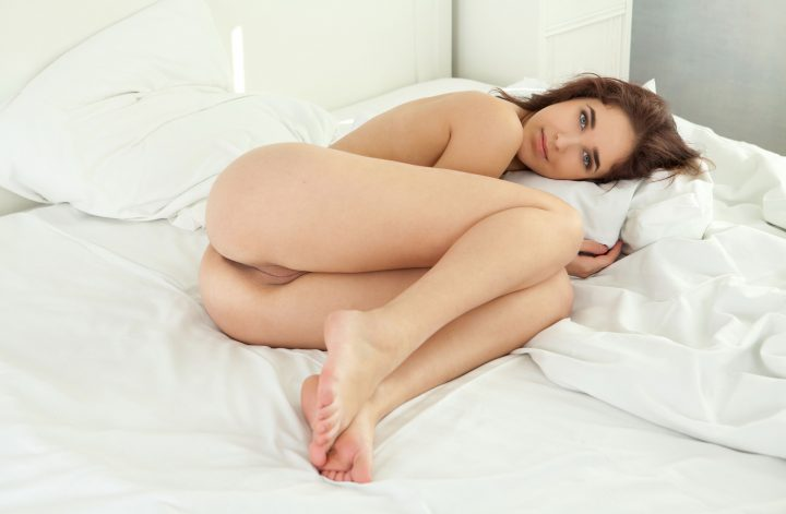 Beautiful Eyes in a white bed.jpg